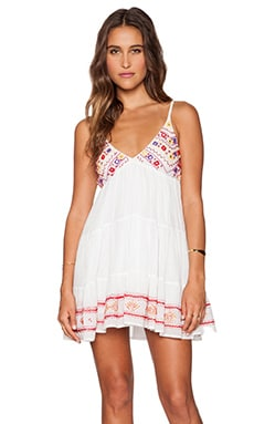 Raga Picnic Baby Doll Dress in White