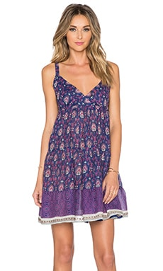Raga Indigo Baby Doll Dress in Purple