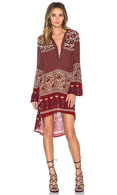 Raga Enchanted Forest Tunic in Maroon