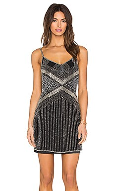Raga We Own The Night Dress in Black & Silver