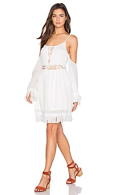 Haley Dress en Blanc