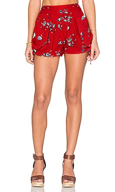 Raga The Sangria Shorts in Red