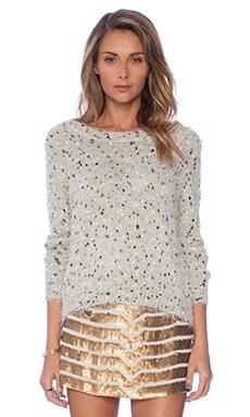 Raga Sequin Sweater in Beige