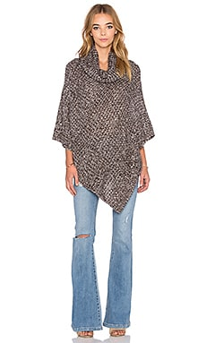 Raga Off The Trails Poncho in Brown