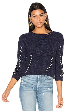 Stitch Sweater in Navy