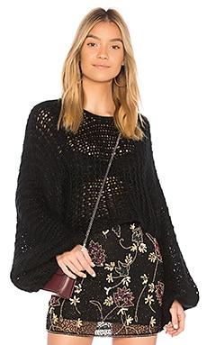Candace Crochet Knit Sweater