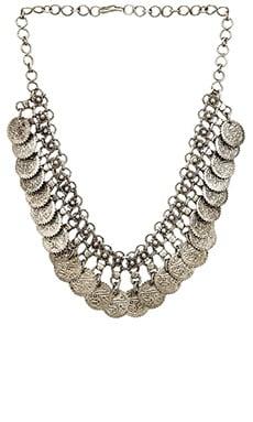Raga Coin Necklace in Silver
