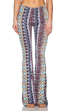 ASHBURY WIDE LEG PRINTED PANT