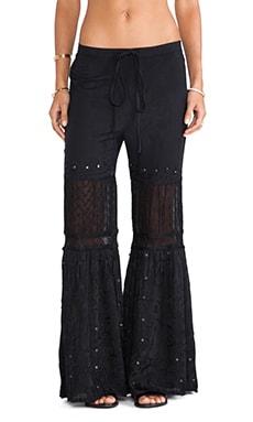Raga Wide Leg Pant in Black
