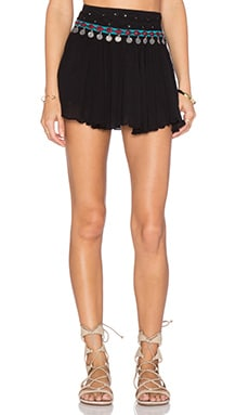 Raga The Night Rider Mini Skirt in Black