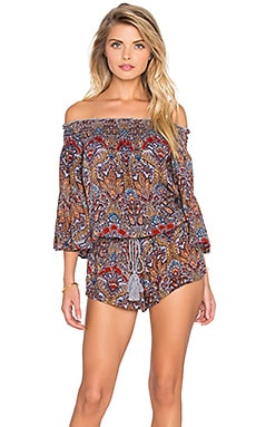 Raga Desert Flower Romper in Multi