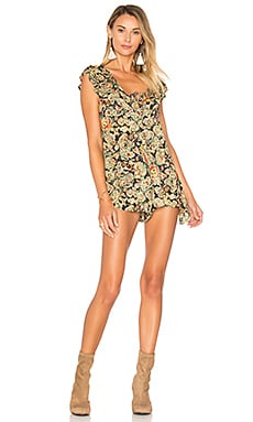 Nocturnal Affair Romper in Multi