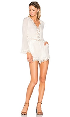 Santa Marta Romper in White