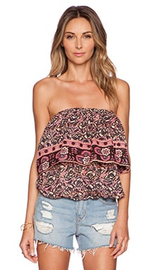 Raga Juniper Crop Top in Multi