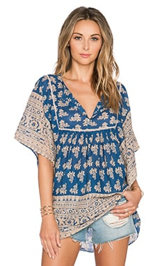 Raga Ara Tunic in Blue