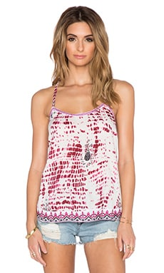 Raga Queen of Hearts Tank in Fuchsia