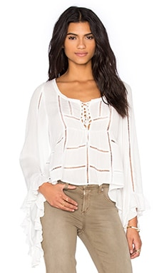 City Breeze Top in White