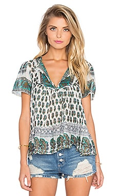 Nomad Dream Top in Green