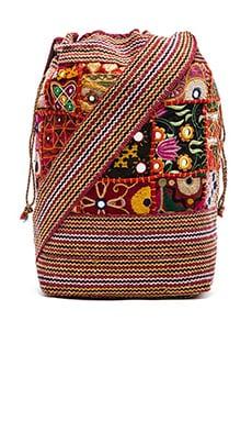 Raga Satchel Bag in Red