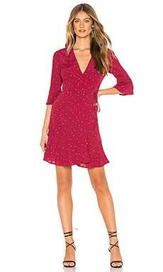 Aimee Wrap Dress Rails $85