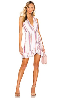 Madison Wrap Dress Rails $107