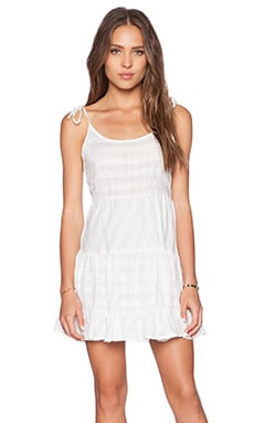 Rails Freya Mini Dress in White Check