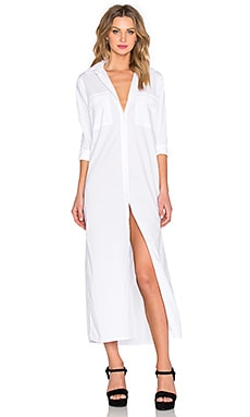 Rails Dusty Maxi Dress in White