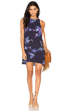 Rails Anya Dress in Navy Wisteria