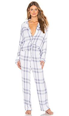 Long Sleeve PJ Set Rails $168