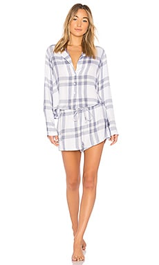 Plaid PJ Set