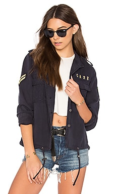 Maverick Jacket in Indigo
