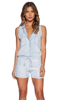 Rails Fiona Romper in Cloud