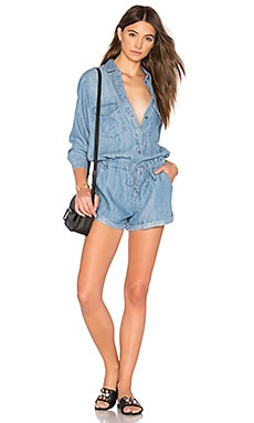 Johnny Romper in Indigo