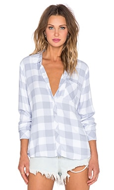 Rails Hunter Button Down in Periwinkle & White Check