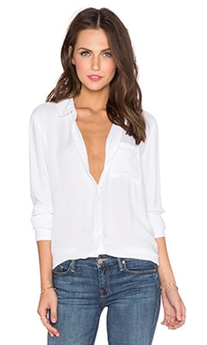 Rails Hunter Button Down in White