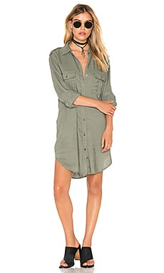 Lennon Button Down in Sage