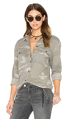 Everett Button Down in camo