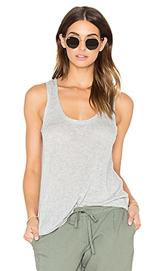 Poppy Tank in Heather Grey