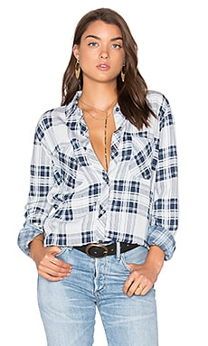 Carter Button Down in Pigment Plaid