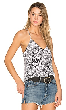 Gwen Top en Ivory Cheetah