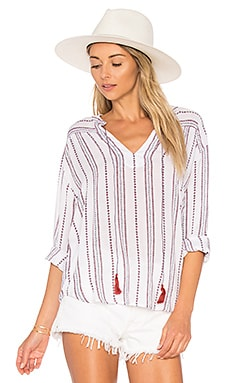 Emily Top en Braided Stripe