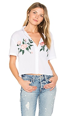 Gretta Embroidered Button Down