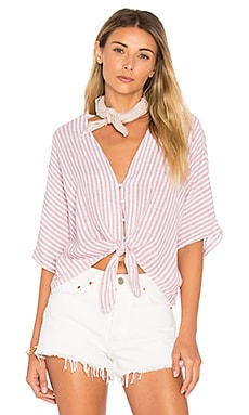 Thea Crop Button Down