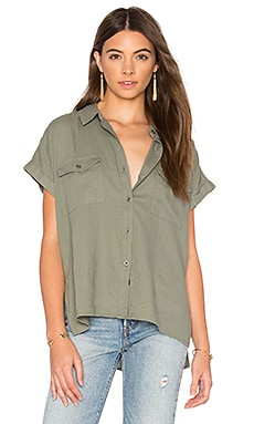 Brittany Button Up in Sage