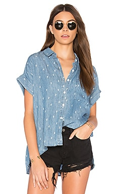 Whitney Button Up in Denim Cactus