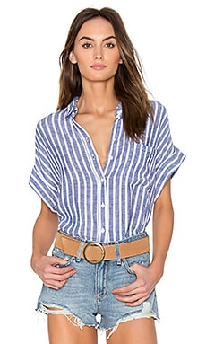 Whitney Button Up in Parisian Blue