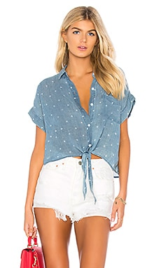 Amelie Button Down Rails $144 NEW ARRIVAL