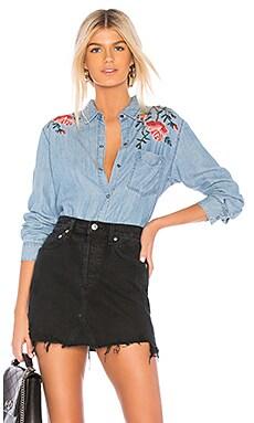 Ingrid Button Down Shirt Rails $110