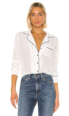 Amara Silk Blouse Rails $228