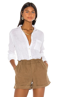 Ellis Gauze Button Down Rails $158
